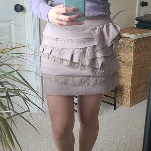 F21☆Dusty Pink mini skirt